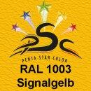 Lederfarbspray Signalgelb 150 ml RAL 1003