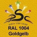 Lederfarbspray Goldgelb 150 ml RAL 1004