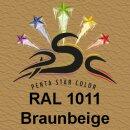 Lederfarbspray Braunbeige 150 ml RAL 1011