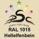 Lederfarbspray Hellelfenbein 150 ml RAL 1015