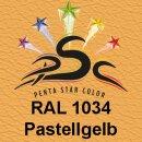 Lederfarbspray Pastellgelb 150 ml RAL 1034