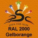 Lederfarbspray Gelborange 150 ml RAL 2000