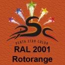 Lederfarbspray Rotorange 150 ml RAL 2001