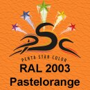 Lederfarbspray Pastellorange 150 ml RAL 2003