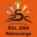 Lederfarbspray Reinorange 150 ml RAL 2004