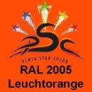 Lederfarbspray Leuchtorange 150 ml RAL 2005