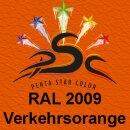 Lederfarbspray Verkehrsorange 150 ml RAL 2009