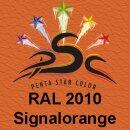 Lederfarbspray Signalorange 150 ml RAL 2010