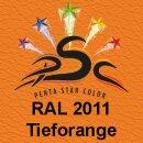 Lederfarbspray Tieforange 150 ml RAL 2011