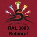 Lederfarbspray Rubinrot 150 ml RAL 3003
