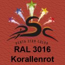 Lederfarbspray Korallenrot 150 ml RAL 3016