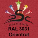 Lederfarbspray Orientrot 150 ml RAL 3031