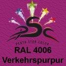 Lederfarbspray Verkehrspurpur 150 ml RAL 4006