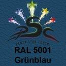 Lederfarbspray Grünblau 150 ml RAL 5001