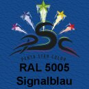 Lederfarbspray Signalblau 150 ml RAL 5005