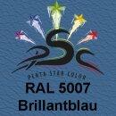 Lederfarbspray Brilliantblau 150 ml RAL 5007