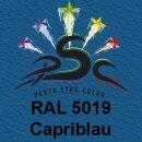 Lederfarbspray Capriblau 150 ml RAL 5019