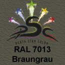 Lederfarbspray Braungrau 150 ml RAL 7013
