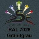 Lederfarbspray Granitgrau 150 ml RAL 7026