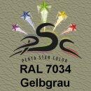 Lederfarbspray Gelbgrau 150 ml RAL 7034