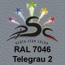 Lederfarbspray Telegrau 2  150 ml RAL 7046