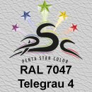 Lederfarbspray Telegrau 4  150 ml RAL 7047