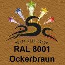 Lederfarbspray Ockerbraun 150 ml RAL 8001