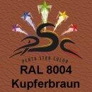 Lederfarbspray Kupferbraun 150 ml RAL 8004