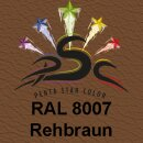 Lederfarbspray Rehbraun 150 ml RAL 8007