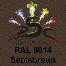 Lederfarbspray Sepiabraun 150 ml RAL 8014