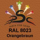 Lederfarbspray Orangebraun 150 ml RAL 8023