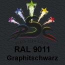 Lederfarbspray Graphitschwarz 150 ml RAL 9011