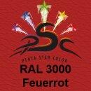 Lederfarbspray Feuerrot 400 ml RAL 3000