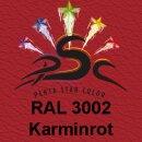 Lederfarbspray Karminrot 400 ml RAL 3002