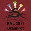 Lederfarbspray Braunrot 400 ml RAL 3011