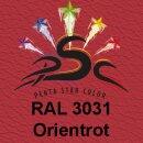 Lederfarbspray Orientrot 400 ml RAL 3031