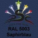 Lederfarbspray Saphirblau 400 ml RAL 5003