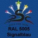 Lederfarbspray Signalblau 400 ml RAL 5005