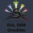 Lederfarbspray Graublau 400 ml RAL 5008