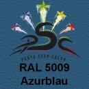 Lederfarbspray Azurblau 400 ml RAL 5009