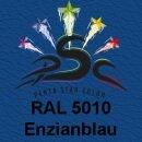 Lederfarbspray Enzianblau 400 ml RAL 5010