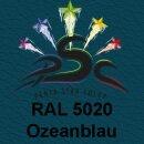 Lederfarbspray Ozeanblau 400 ml RAL 5020