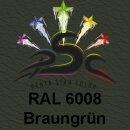 Lederfarbspray Braungrün 400 ml RAL 6008