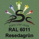 Lederfarbspray Resedagrün 400 ml RAL 6011