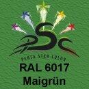 Lederfarbspray Maigrün 400 ml RAL 6017