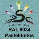 Lederfarbspray Pastelltürkis 400 ml RAL 6034