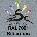 Lederfarbspray Sibergrau 400 ml RAL 7001