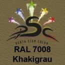 Lederfarbspray Khakigrau 400 ml RAL 7008