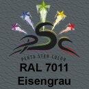 Lederfarbspray Eisengrau 400 ml RAL 7011