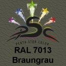 Lederfarbspray Braungrau 400 ml RAL 7013